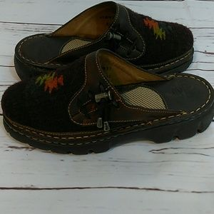 Double H Bods (wool clogs mules) Size 6.5